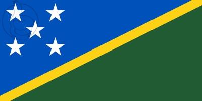 Bandera Salomon Islands