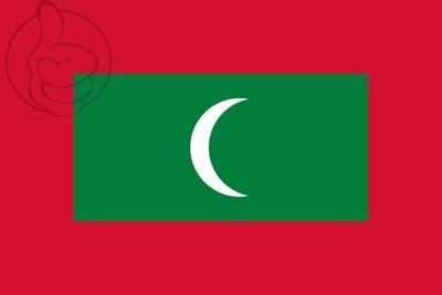 Bandera Maldivas