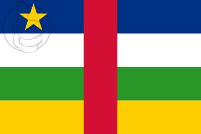 Bandera República Centroafricana