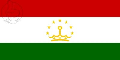 Bandera Tayikistán