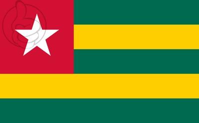 Bandera Togo