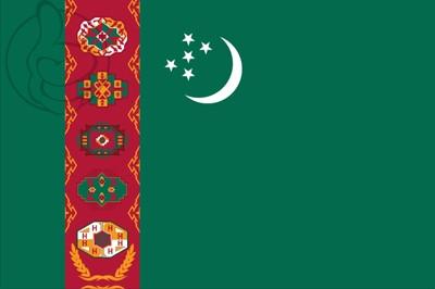 Bandera Turkmenistán