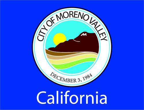 Drapeau de la Moreno Valley, Californie