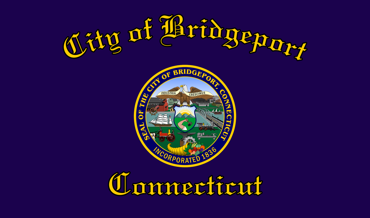 Bandeira do Bridgeport, Connecticut