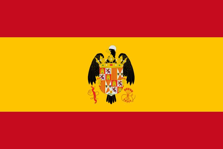 Bandera España Escudo Reyes Católicos