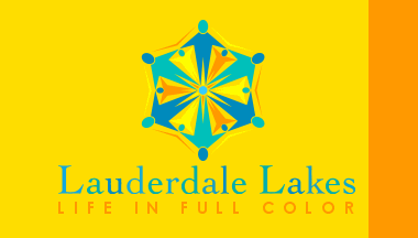 Flag of Lauderdale Lakes, Florida