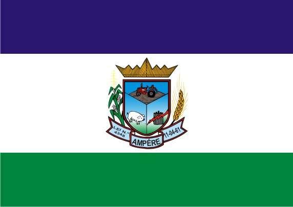 Bandera de Ampére