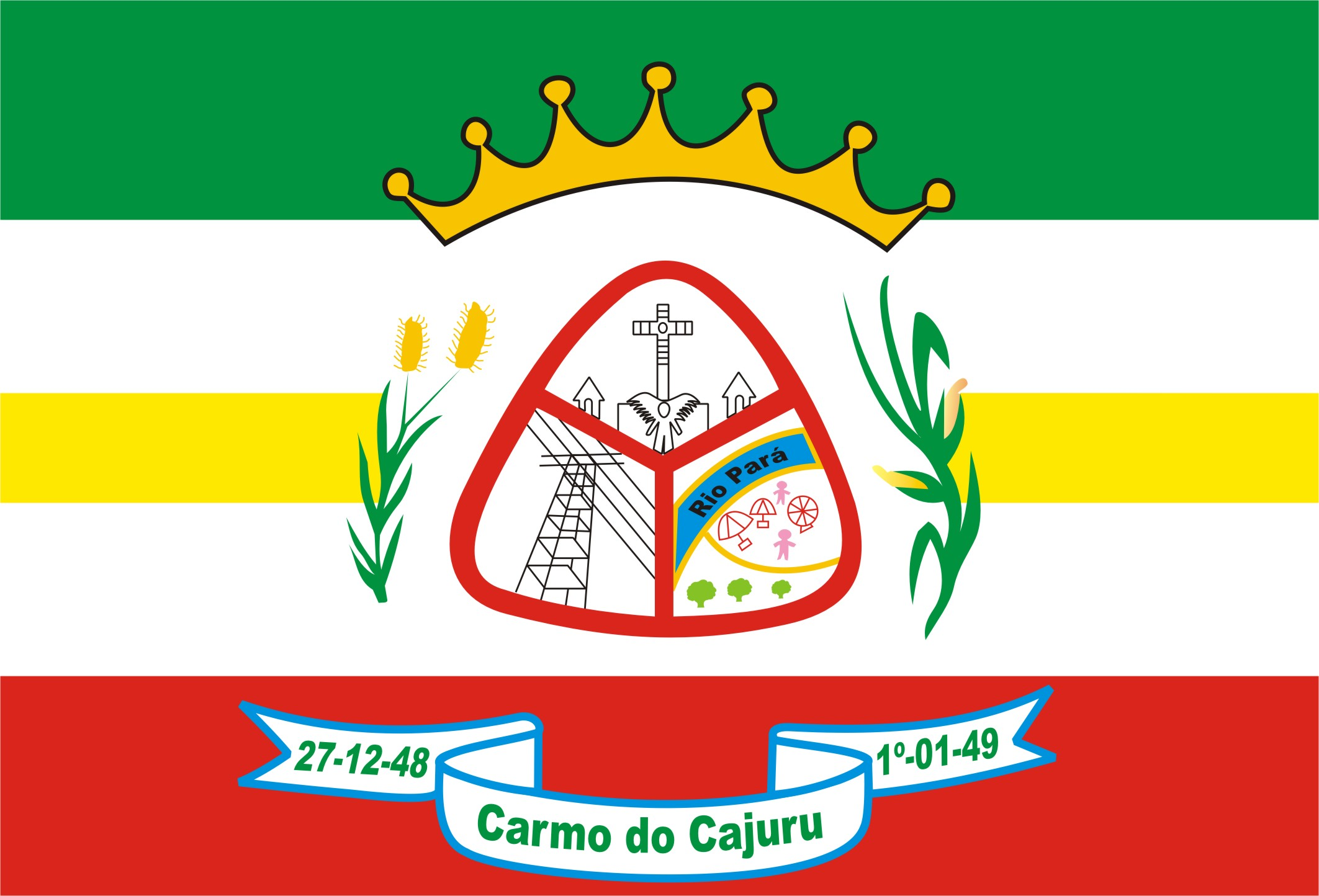 Bandera Carmo do Cajuru