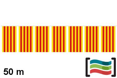 Banderines de plástico Cataluña