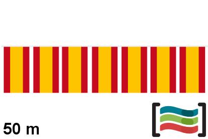 Banderines de plástico España 50m