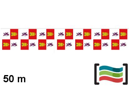 Banderines Castilla y León 50m