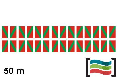 Banderines País Vasco 50m