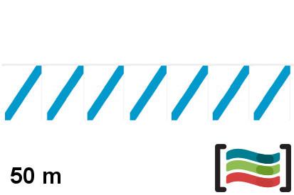 Banderines Galicia 50m