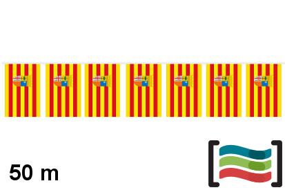 Banderines de Aragón 50m