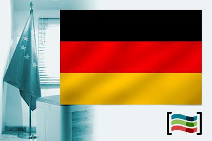 Bandera de Alemania para despacho