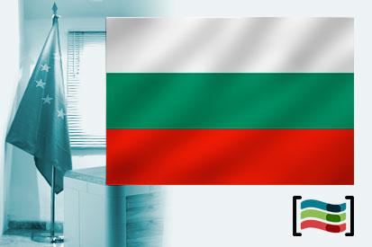 Bandera de Bulgaria para despacho