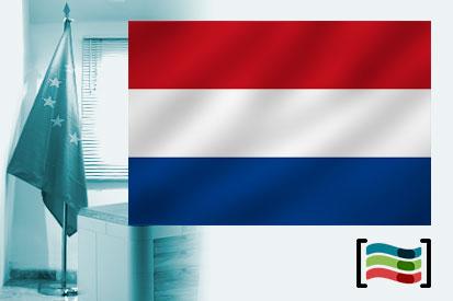 Bandera de Holanda para despacho