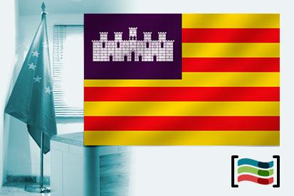 Bandera de Islas Baleares para despacho