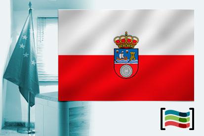 Bandeira da Cantábria para escritório