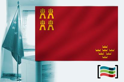 Bandera de Región de Murcia para despacho