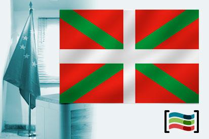 Bandera de País Vasco para despacho