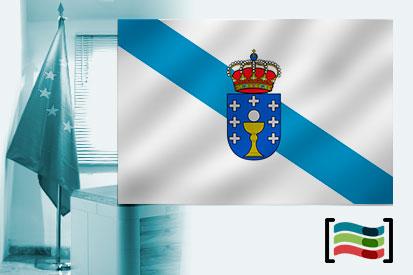 Bandera de Galicia para despacho