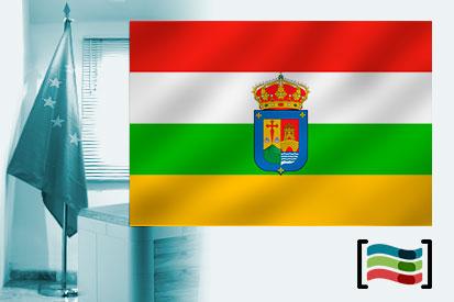 Bandera de La Rioja para despacho