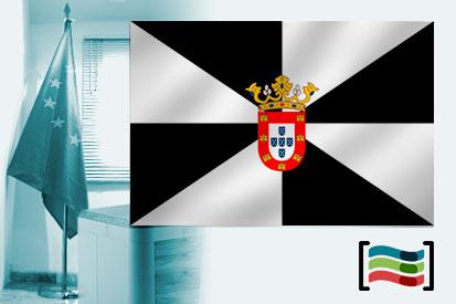 Bandeira das Ceuta para despacho