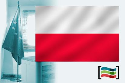 Bandera de Polonia para despacho