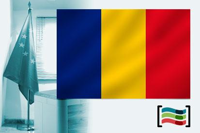 Bandera de Rumanía para despacho