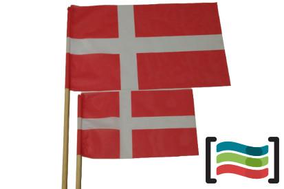 15 Banderas de mano con palo