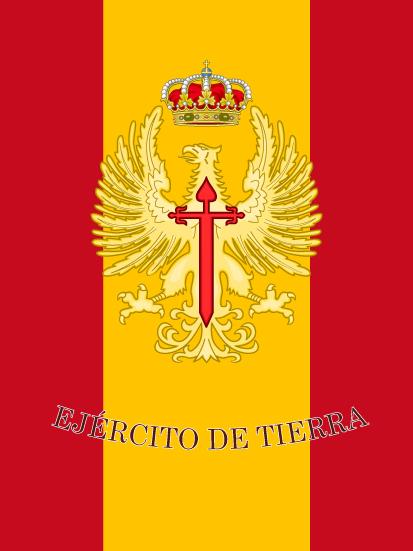 Bandera de mochila Ejército de Tierra ET