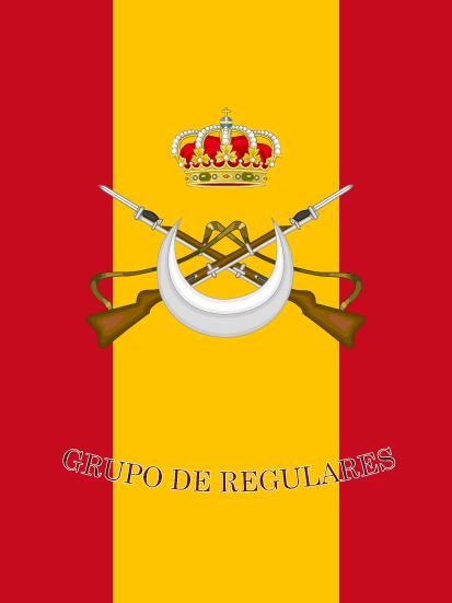 Bandera de mochila Regulares