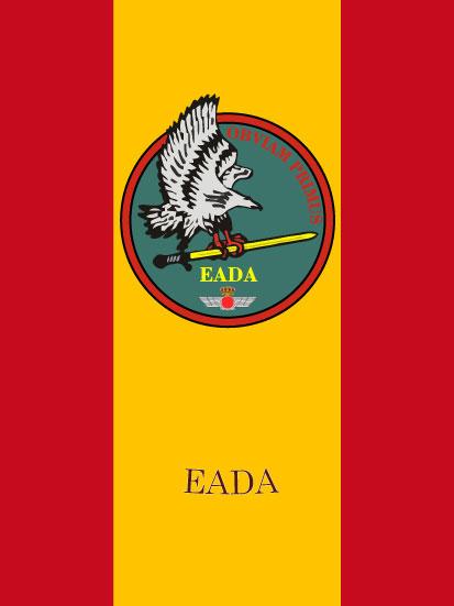 Bandera de mochila EADA