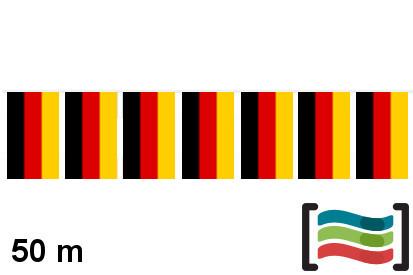Banderines de plástico Alemania 50m