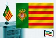 Bandiera della tovaglia ricamata Castellon