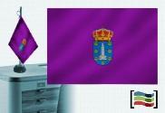 Tovaglia ricamata bandiera della Coruña