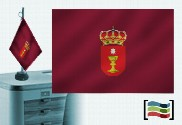 Tovaglia ricamata bandiera di Cuenca