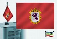 Tovaglia ricamata bandiera di Leon