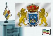 Bandiera della tovaglia ricamata Lugo