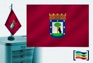 Drapeau de Madrid brodé pour bureau