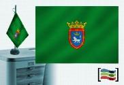 Bandera de Pamplona sobremesa bordada