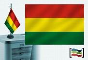Bandiera della Bolivia ricamata tovaglia