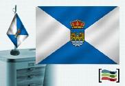 Bandiera della tovaglia ricamata di Pontevedra