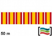 Bandeirolas de plástico Espanha 50m