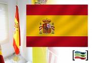 Bandera de España para despacho