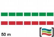 Bandeirolas de plástico Itália 50m
