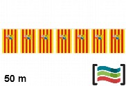 Galhardetes de Aragão 50m