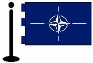 Bandera de la O.T.A.N. sobremesa bordada