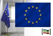 Bandeira da Europa para despacho